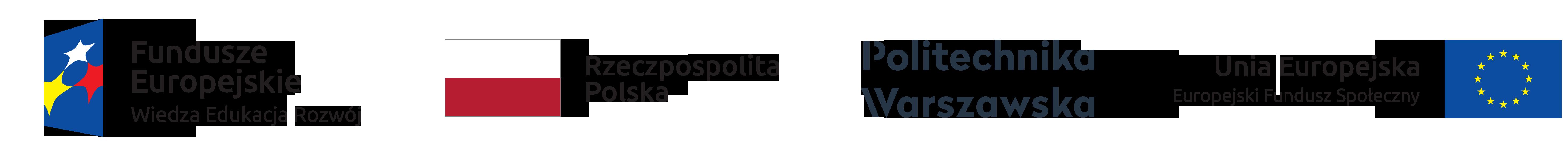 Logo Politechnika Fundusz Europejski