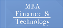 MBA Finance & Technology